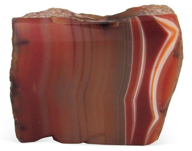 Curved Antique Agate Specimen