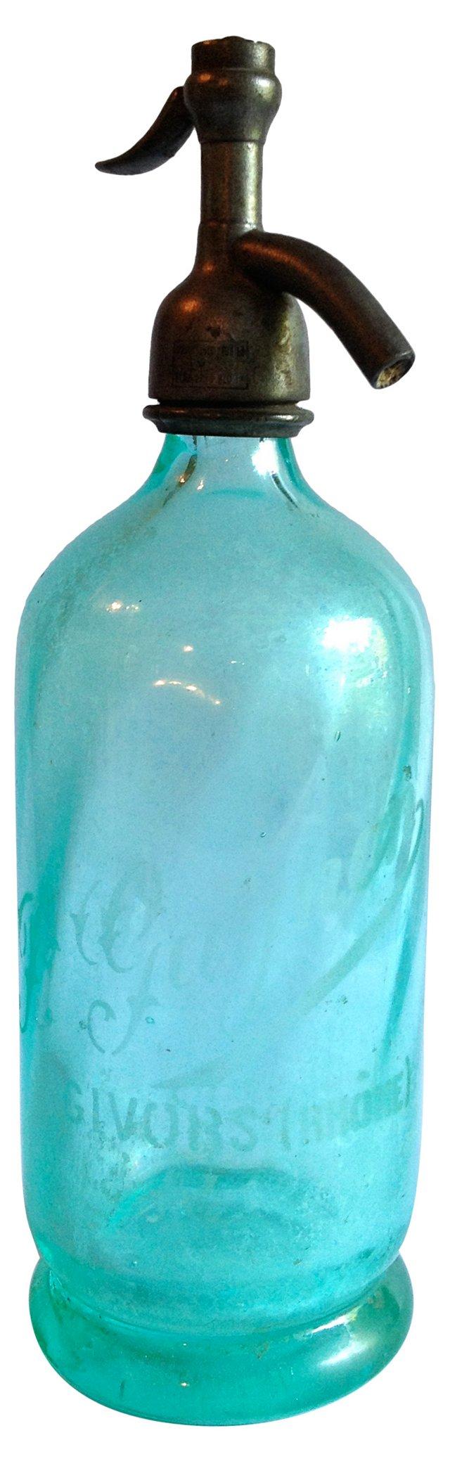 French Seltzer Bottle