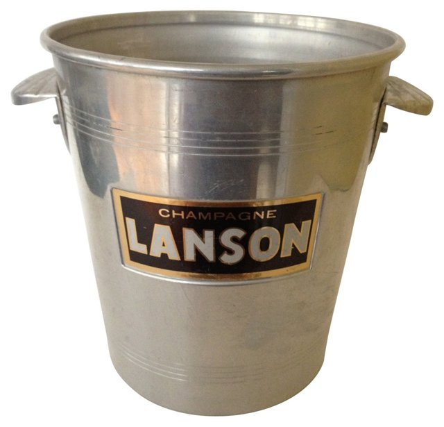 Champagne Bucket w/ Shell Handles
