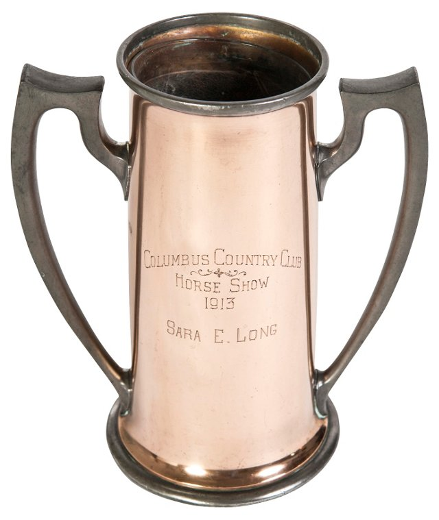 Copper Horse Show Trophy