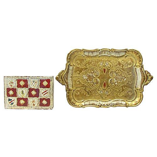 Florentine Box & Tray