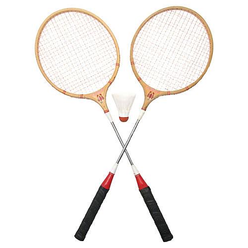 Scorpion Badminton Racquets & Birdie S/3