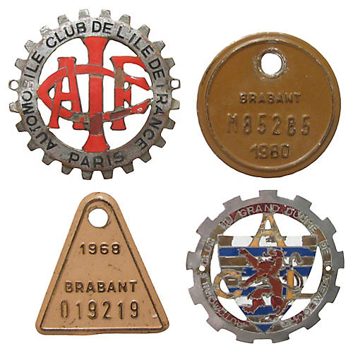 European Car & Bike Badges, S/4