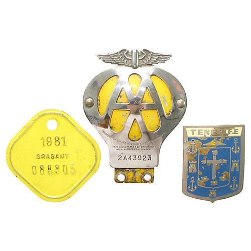 European Car & Bicycle Badges, S/3