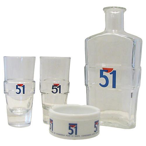 French Bistro Service Set, 4 Pcs