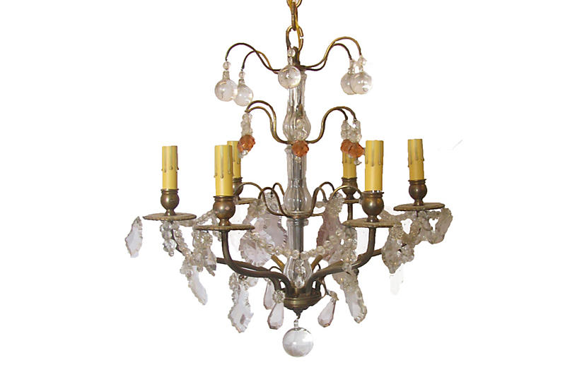 French Versaille Style Chandelier