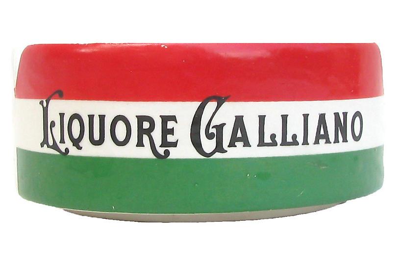Italian Galliano Liqueur Ashtray