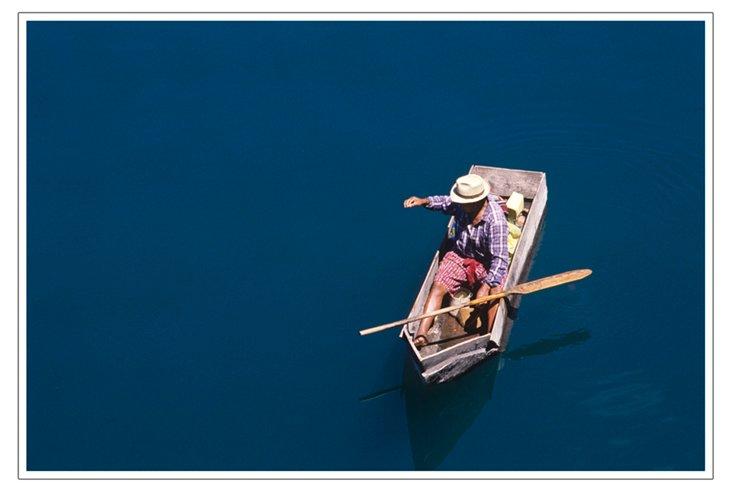 Serene In Blue
