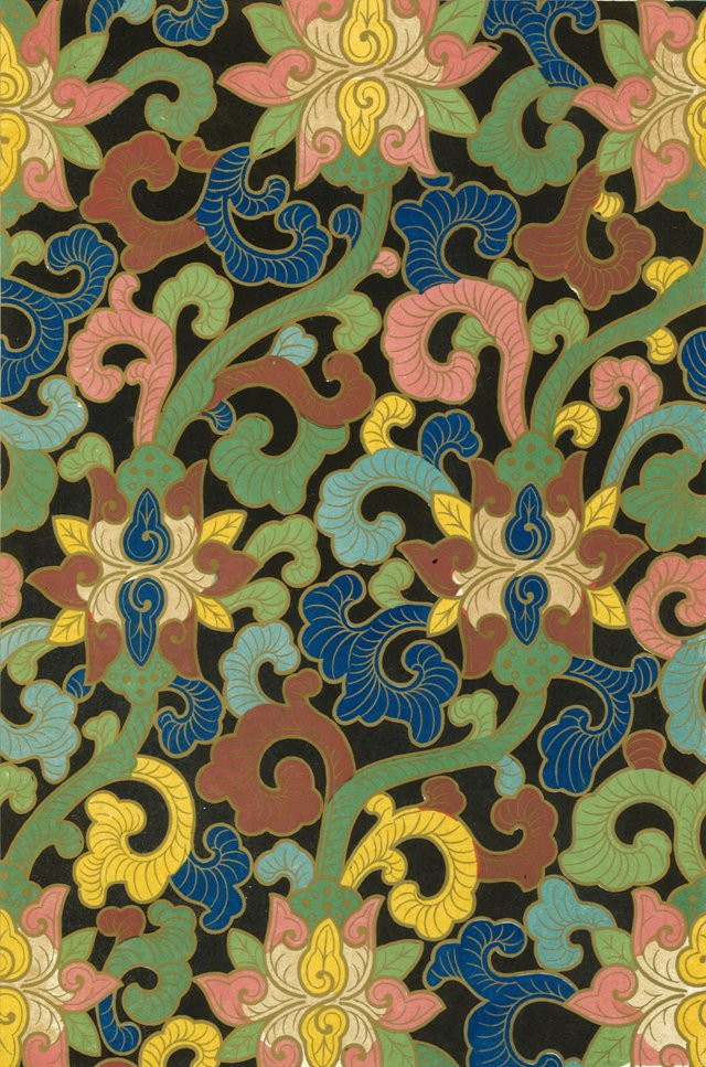 Floral Chinese Pattern, 1867