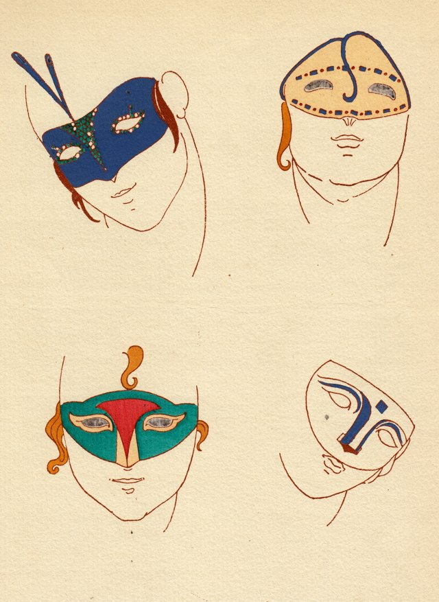 Deco Parisian Masque Designs