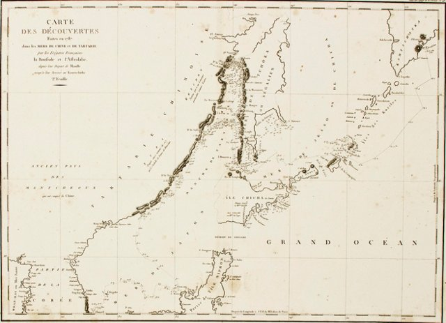 Northeast China & Kamtschatka, C. 1785