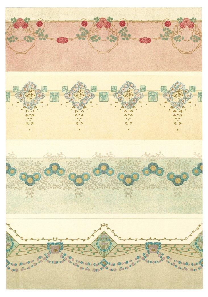 Boho Design  Lithograph