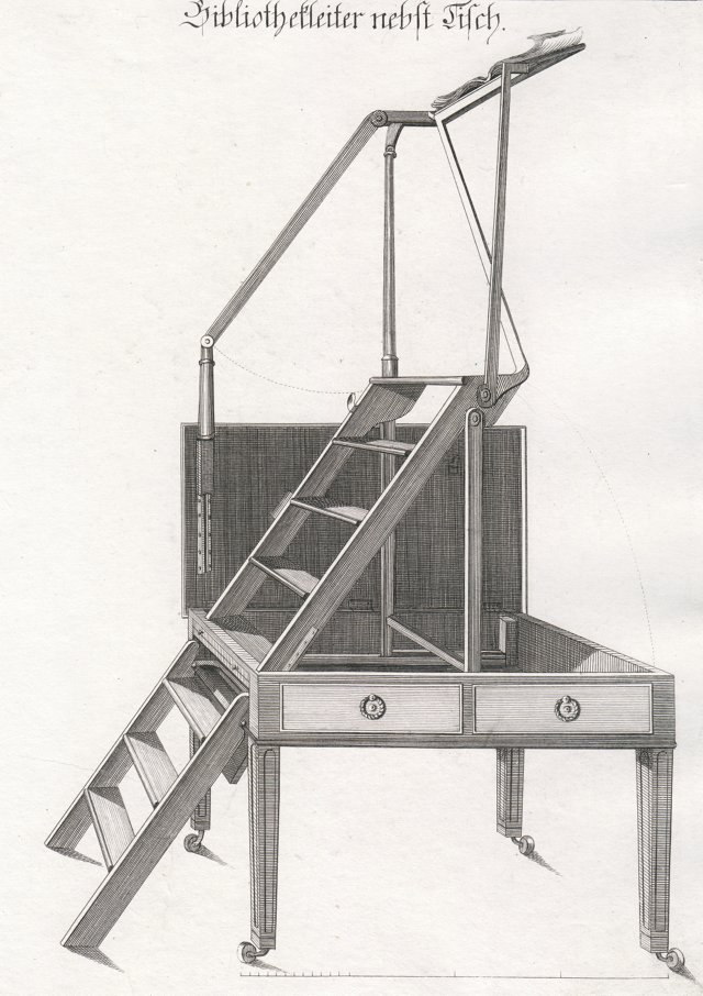 Library Ladder, 1794