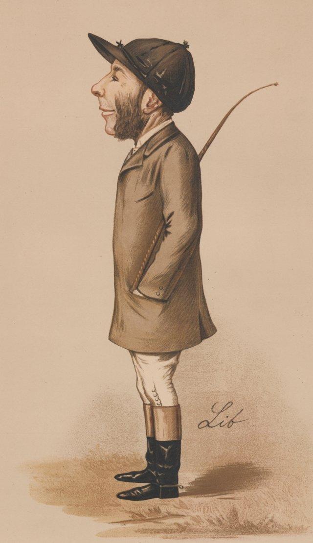 Jockey      Lithograph, 1889