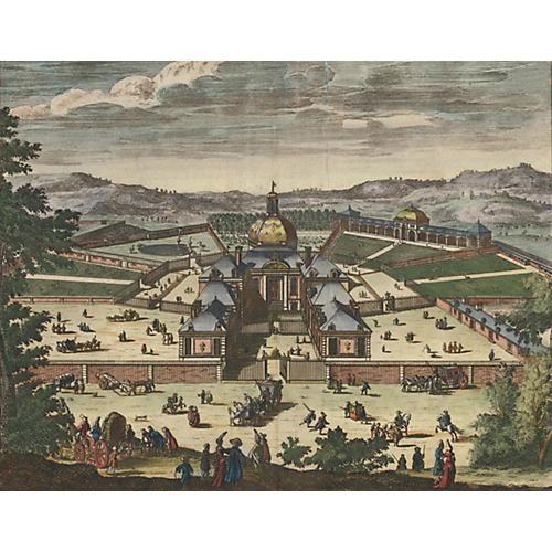 The Menagerie at Versailles, C. 1730