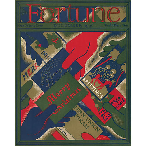Fortune Magazine Holiday Cover, 1936