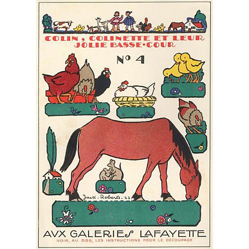 French Farm Animals, 1922