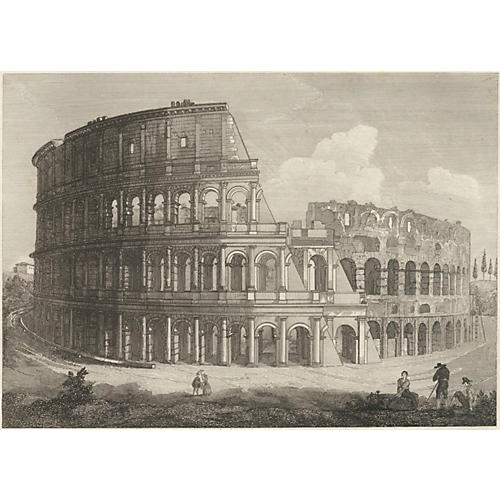 The Colosseum, Rome, 1843
