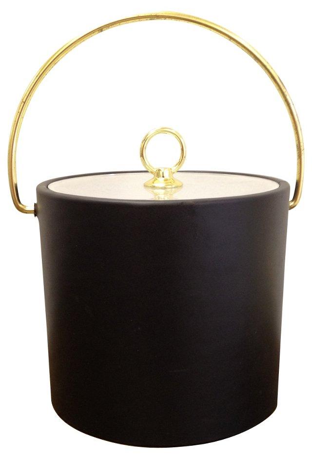 Gold & Black Ice Bucket
