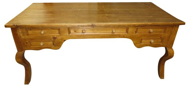 French Country Pine Desk