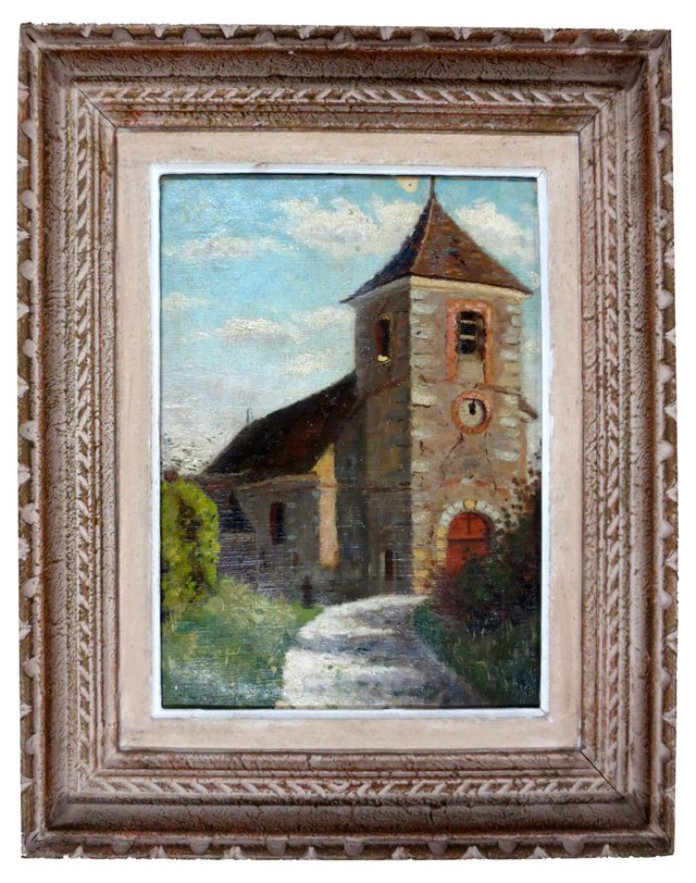 Oil Painting of French Landscape