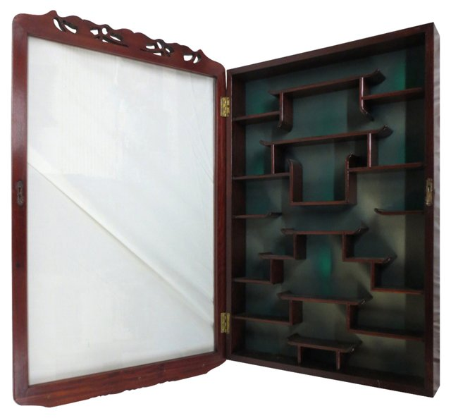 Chinese Wall Display Case