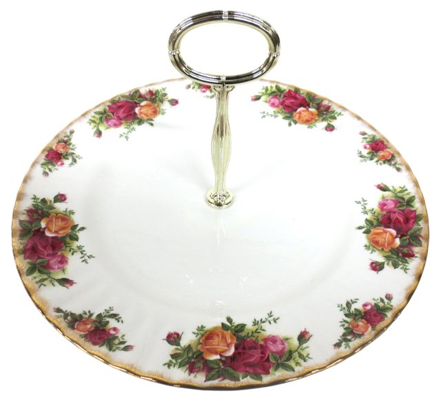 Royal Albert Floral Dessert Plate