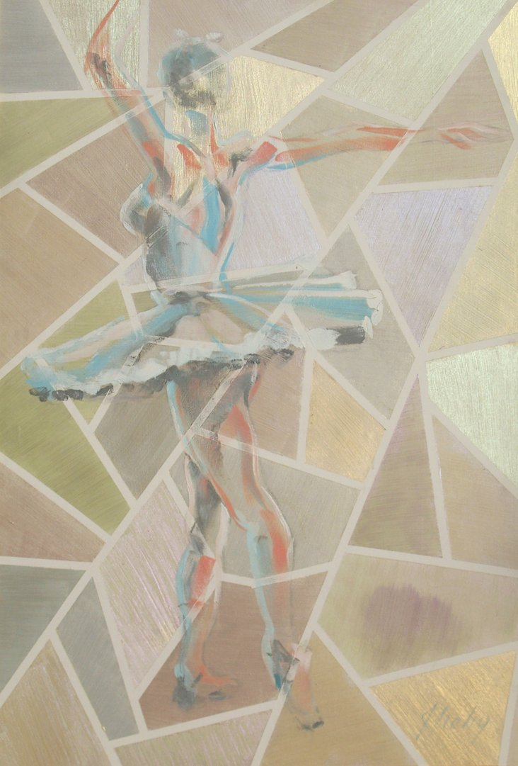 1980s, Cubist Ballerina