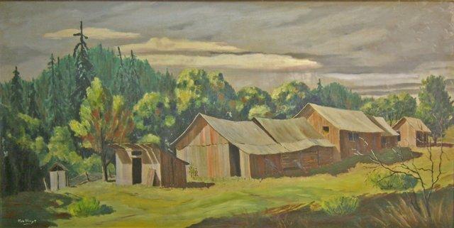 Large Vermont Landscape, 1955