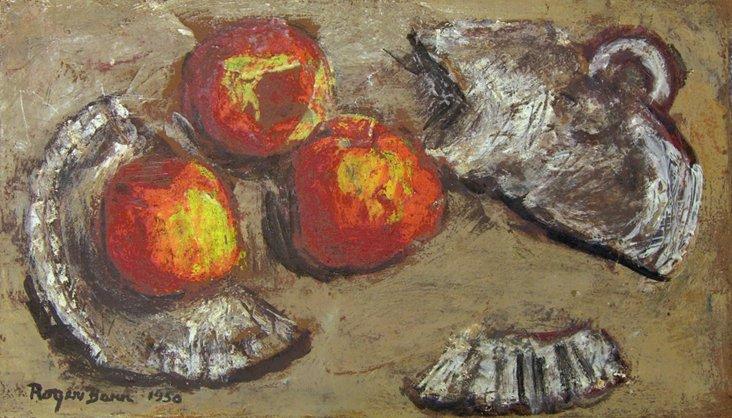 1D/ Still Life of Apples, 1950
