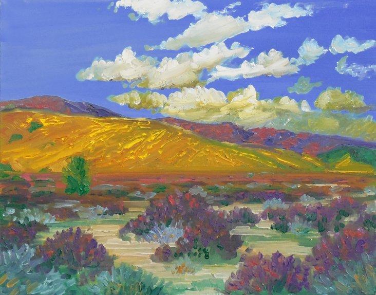 High Desert Landscape, 1975