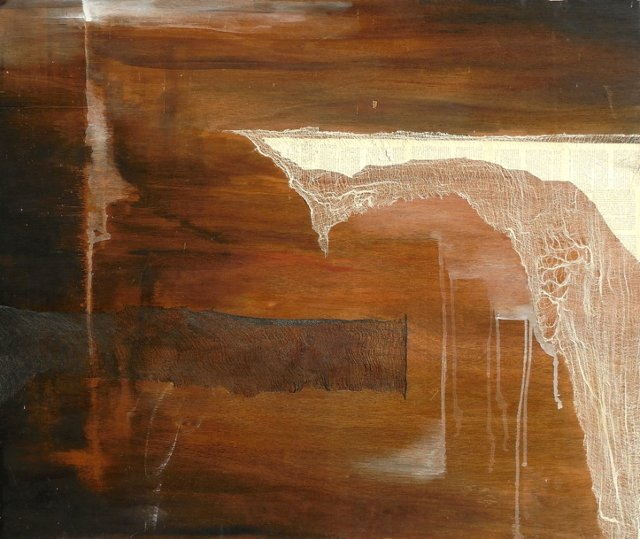 Large Abstract by Hannah Henderson