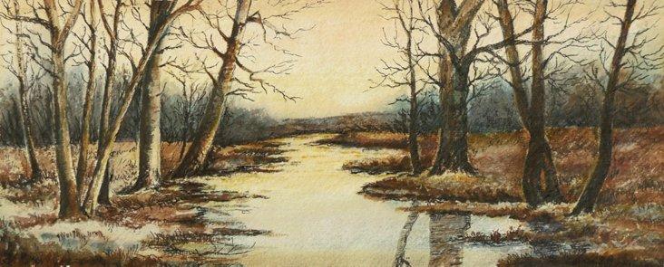 Woodland Sunset, 1890
