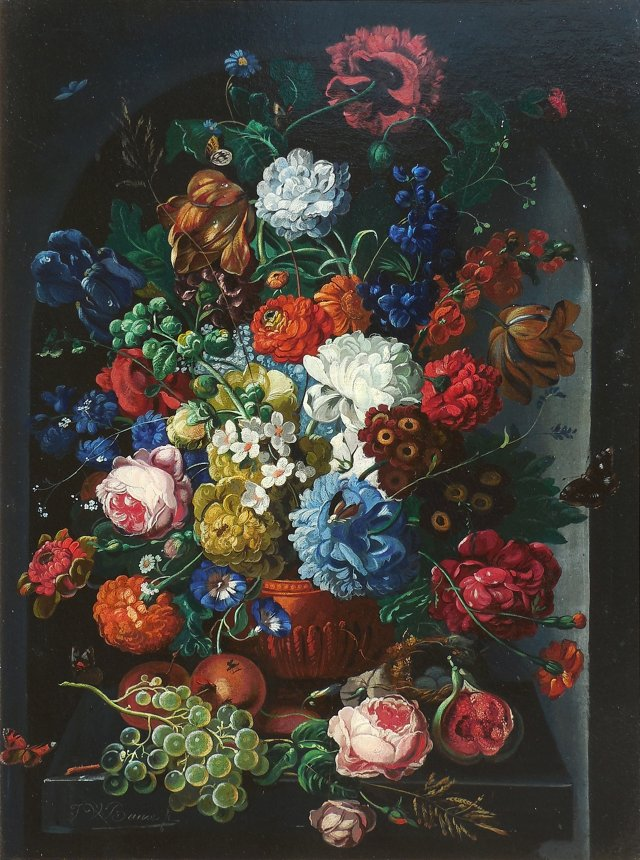 Large Floral Still Life