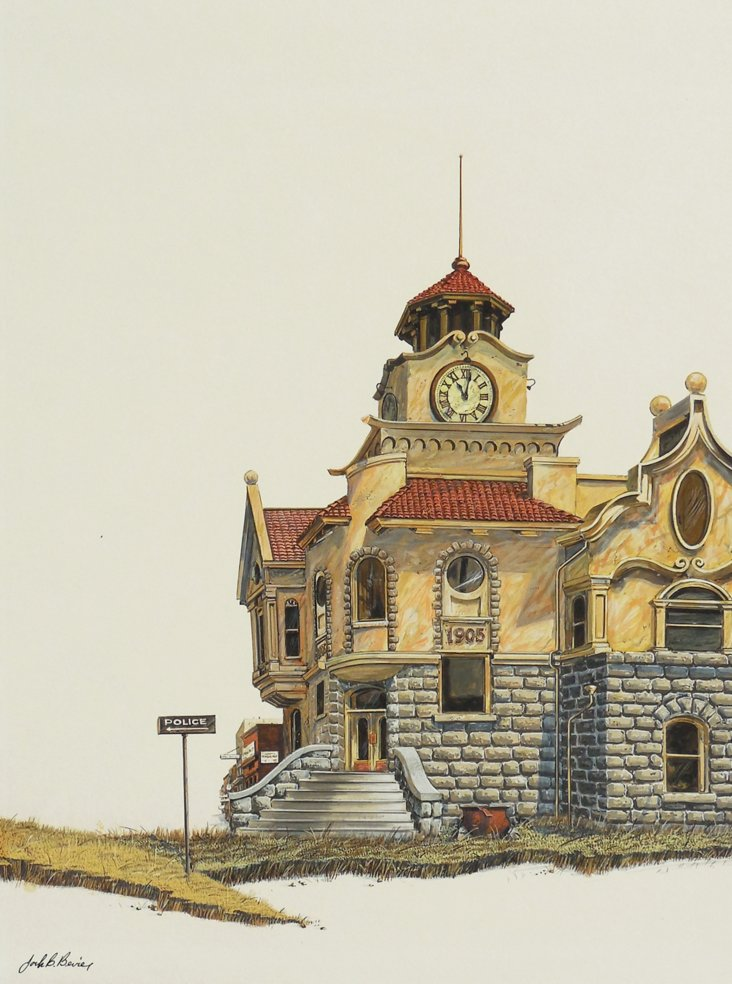 1970s, The Old Courthouse, Los Gatos