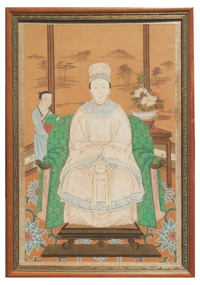 1920s Chinese Ancestral Portrait