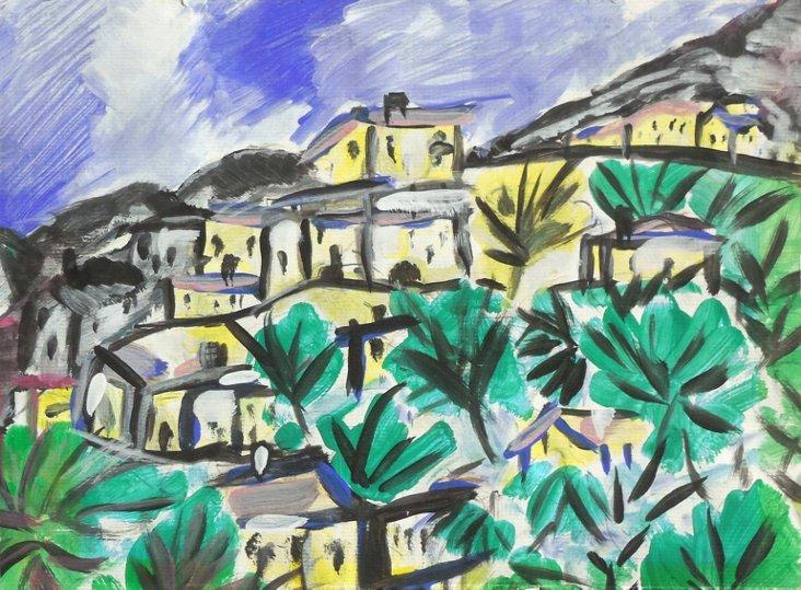 Modernist Santa Barbara Hills, 1949