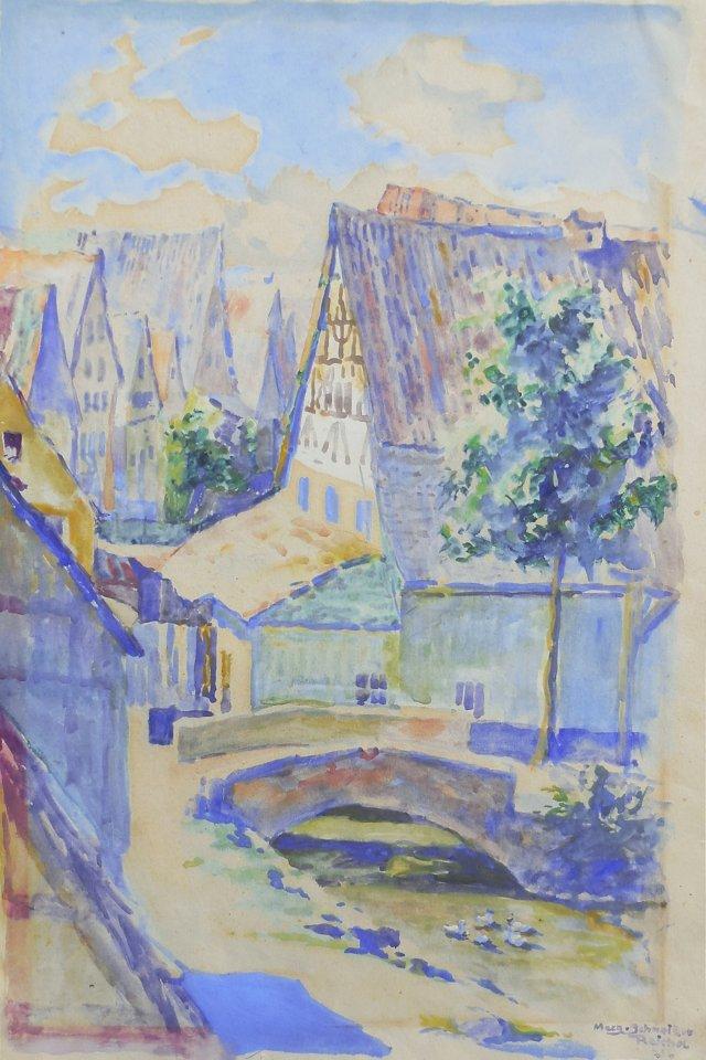 European Village, 1921