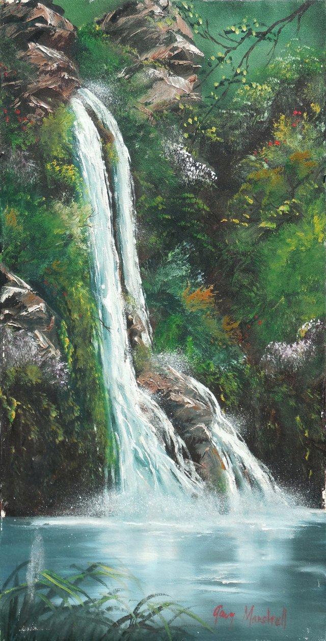 Manoa Falls, O'ahu, 1983