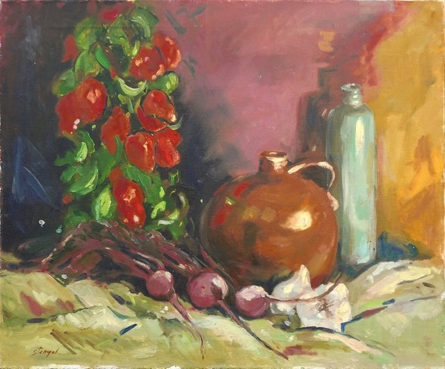Still Life w/ Red Peppers, 1975