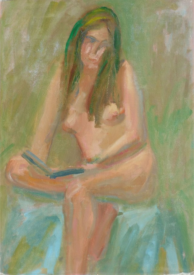 Seated      Nude, 1970s