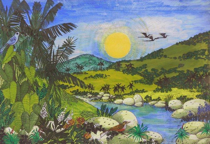 Tropical Landscape, 1970s
