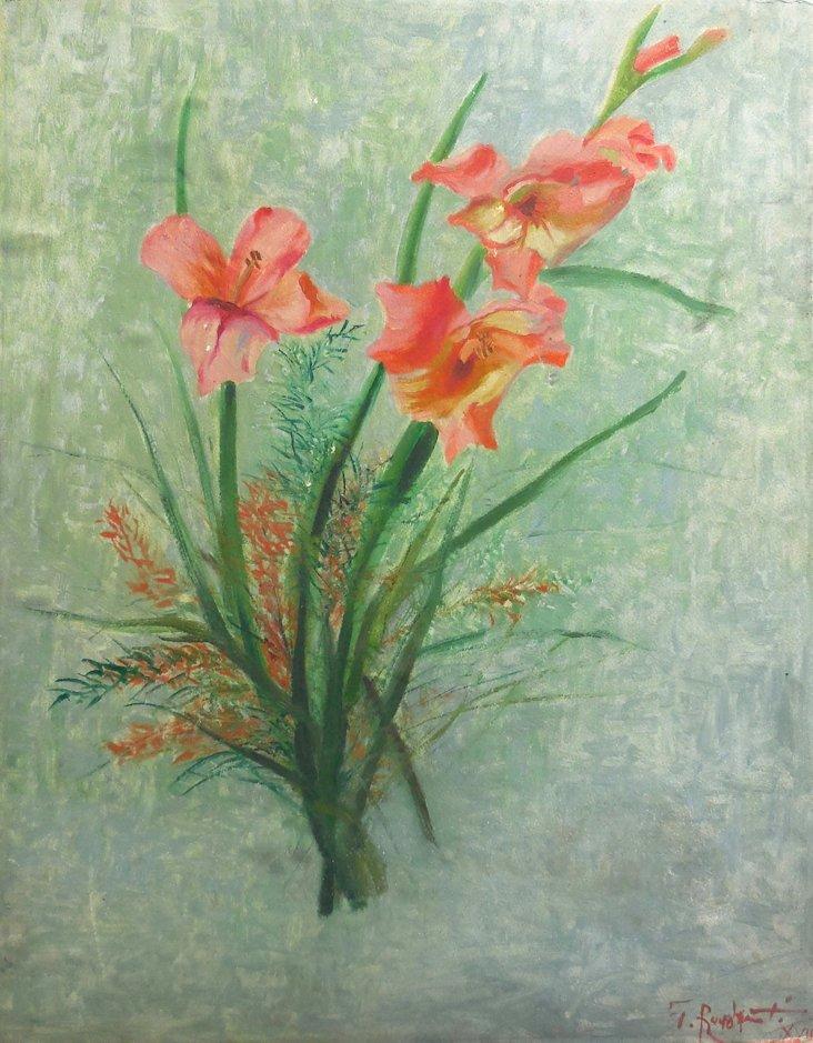 Still Life Flowers, 1960s