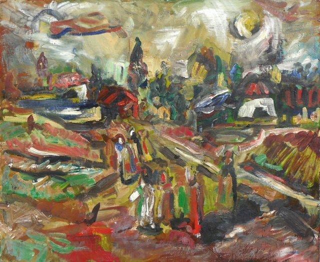 Figural Landscape, 1955