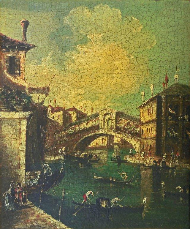 The Rialto      Bridge, Venice, 1880