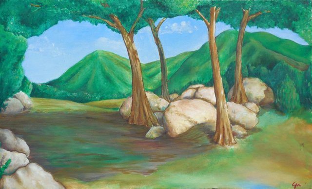 Canopy of Trees, 1985