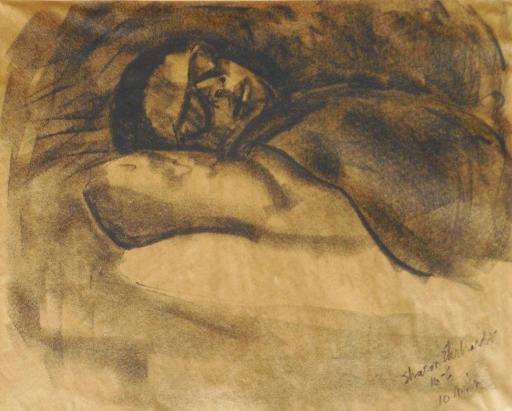 Reclining Nude, 1940s