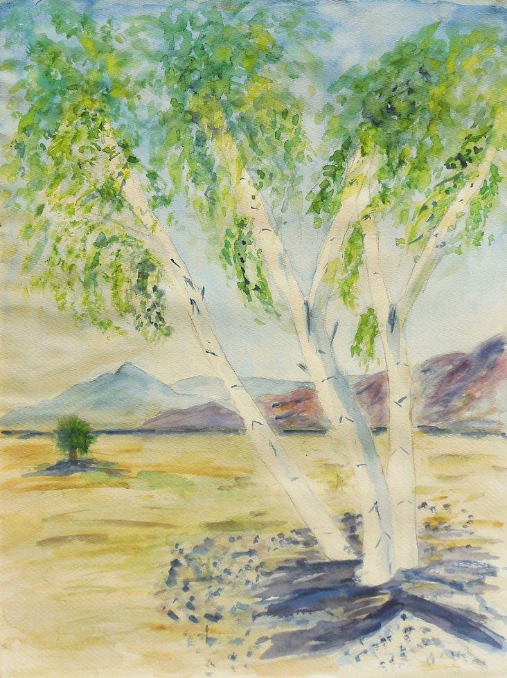Silver Birches,   1975