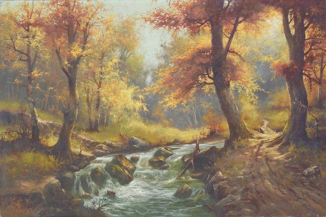 Woodland Stream, 1960s