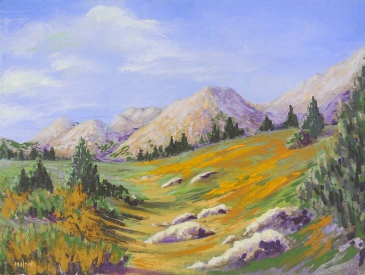 Mountain Landscape, 1970s